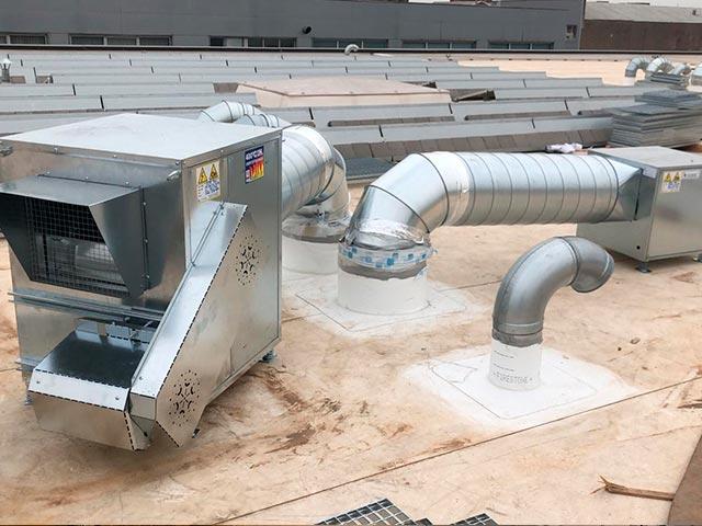 reparacion, mantenimiento e instalacion de sistemas de extracción de humos para cocinas
